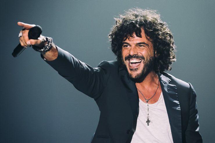 il cantante Francesco Renga