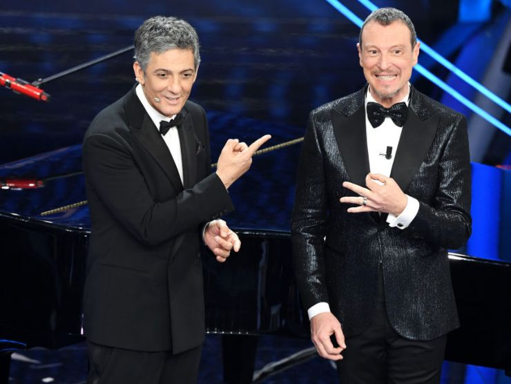 Amadeus e Fiorello Sanremo 2020