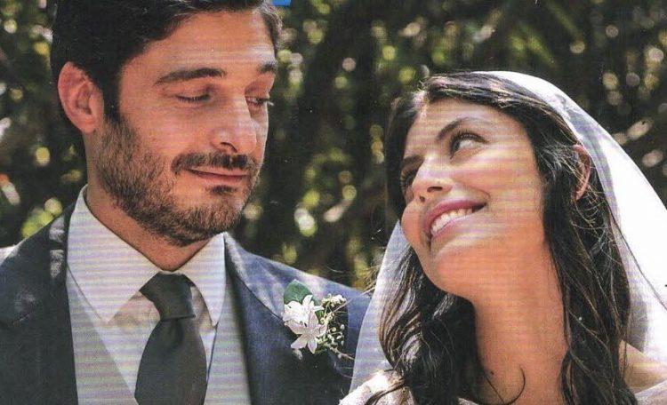 Alessandra Mastronardi e Lino Guanciale sposi L'allieva