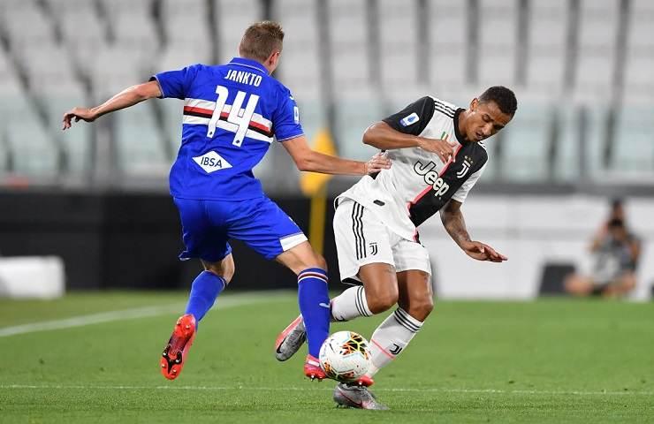Juventus-Sampdoria streaming