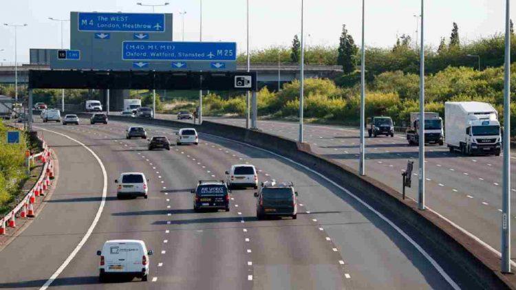 Motorway 25 Londra