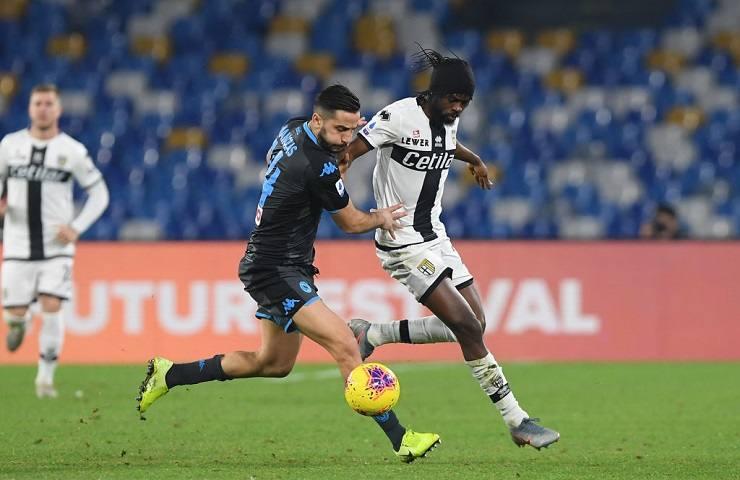 Parma-Napoli