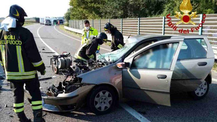 Incidente a San Donà di Piave (foto dal web)