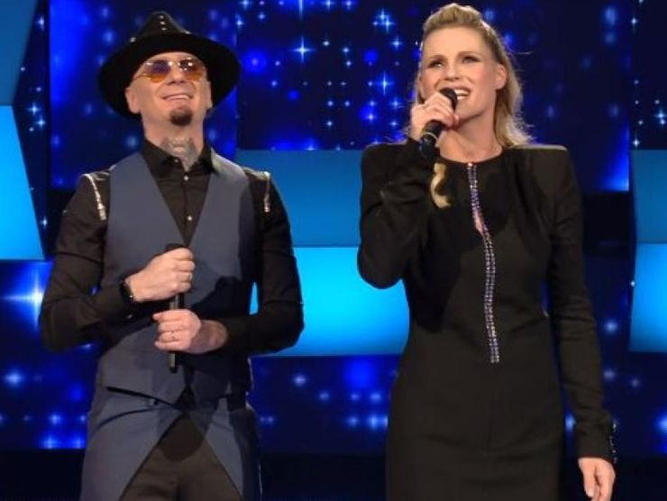 All Together Now Michelle Hunziker e J-Ax