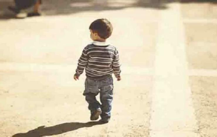 Bambino di tre anni disperso