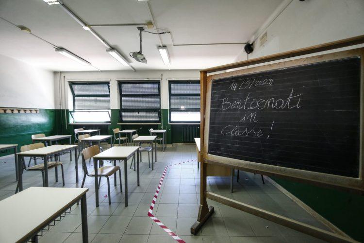 Covid primo caso scuola roma