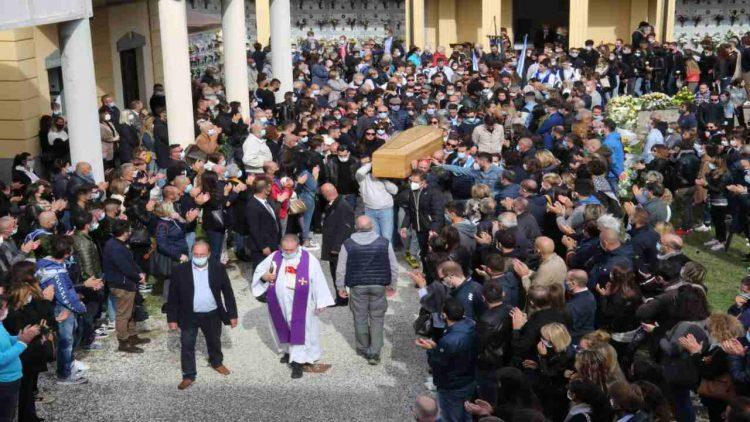 Funerali Marco Del Rosso (foto dal web)