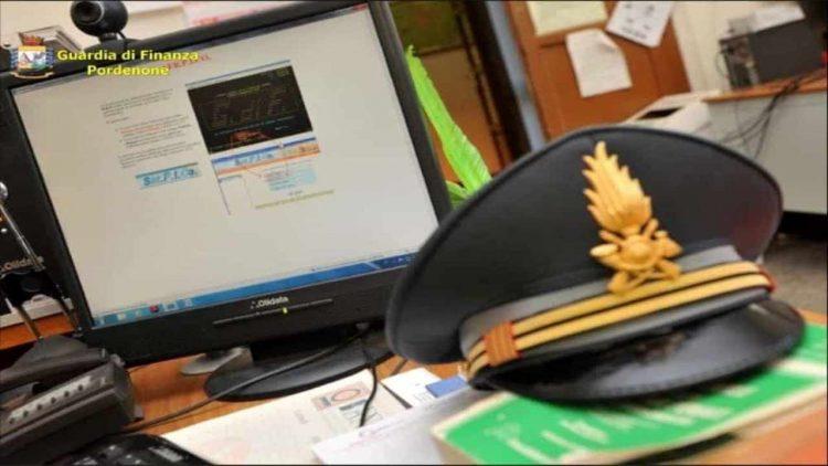 Guardia di Finanza Pordenone (foto dal web)