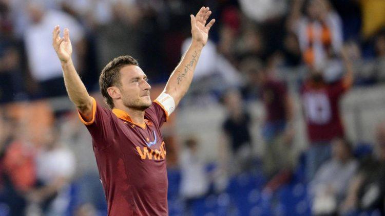 Francesco Totti racconta particolari della sua vita