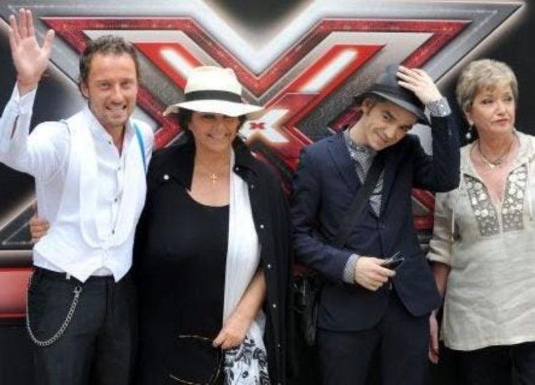 Francesco Facchinetti e i giudici di X Factor 3
