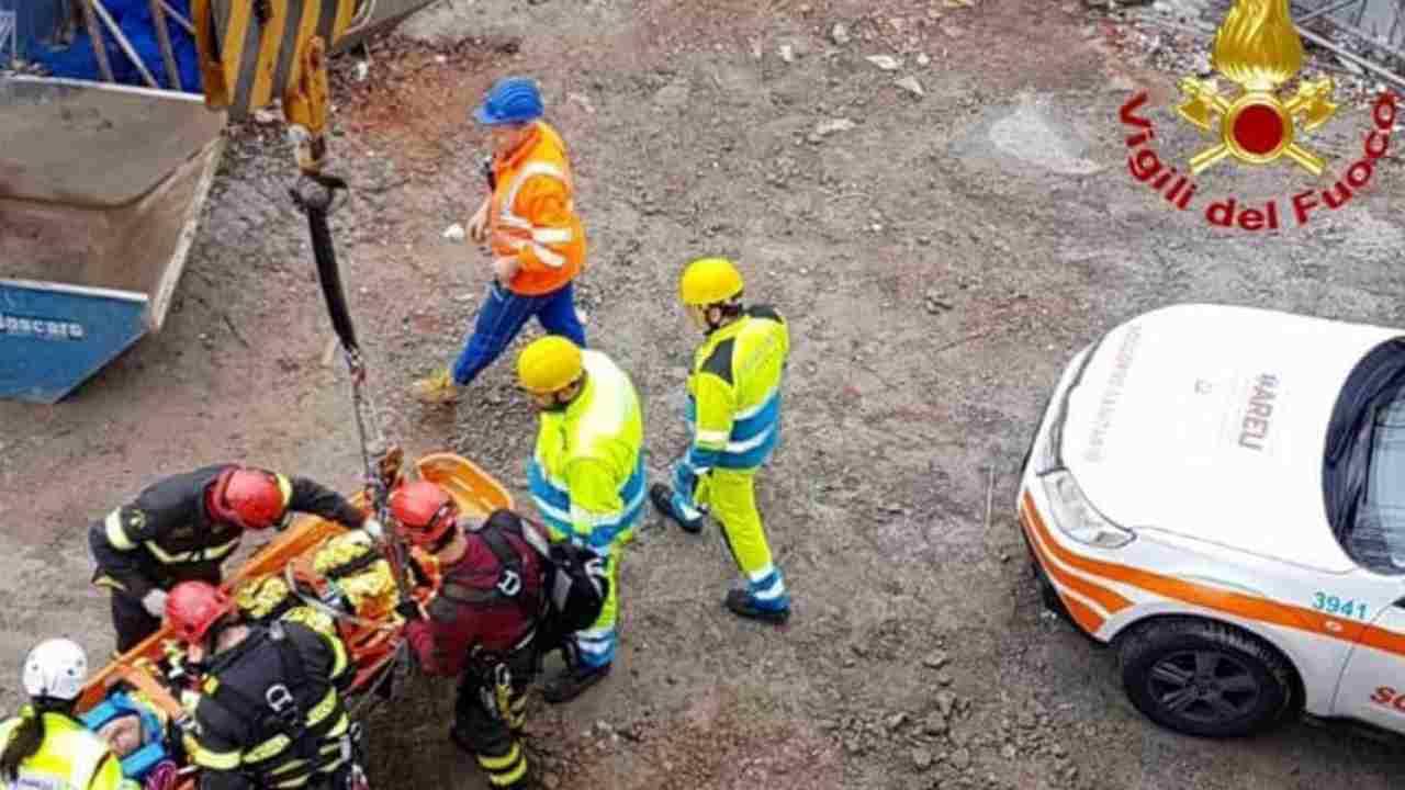 incidente sul lavoro