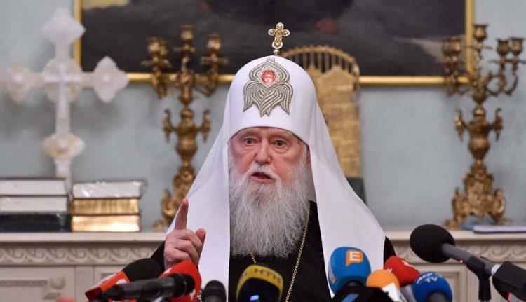 Filaret, patriarca positivo al Covid
