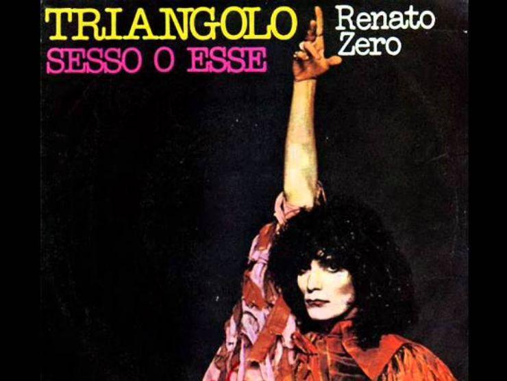Renato Zero Copertina Triangolo