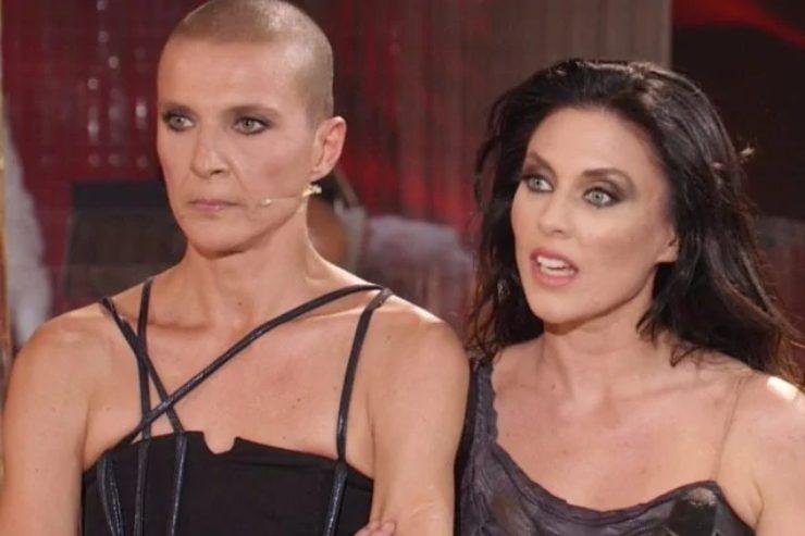 Rosalinda Celentano e Tinna Hoffman (foto dal web)