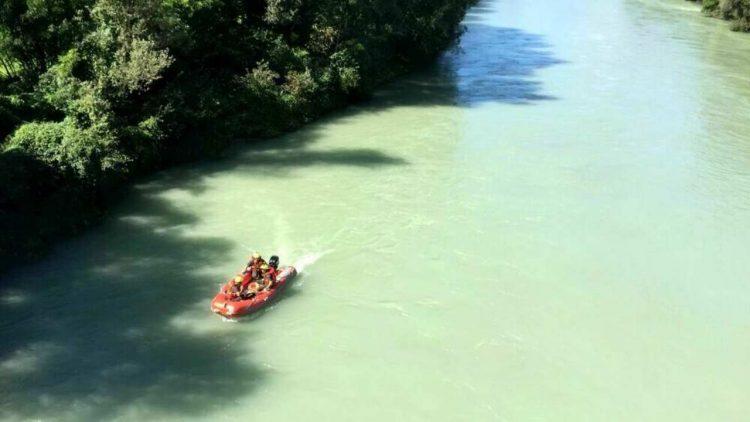 Cadavere fiume Adda (foto dal web)