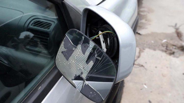 Truffa dello specchietto rotto