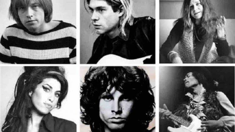 Club 27 rockstar morte stessa età leggenda