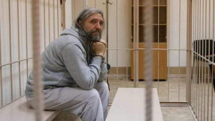 Sergei Torop in carcere (foto dal web)
