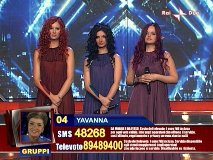 Yavanna a X Factor 3