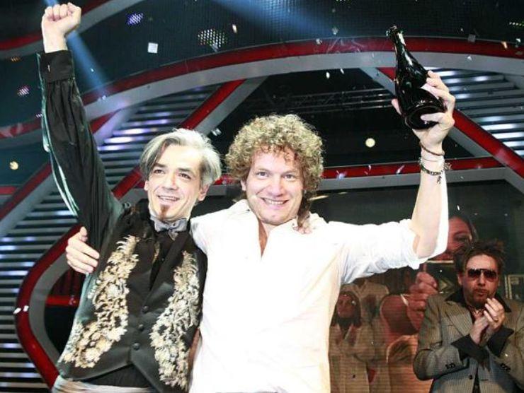 Matteo Becucci e Morgan a X Factor