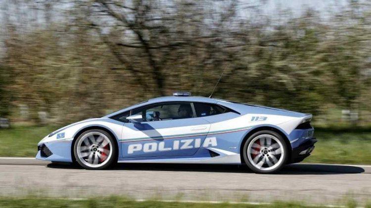 Da Padova a Roma in Lamborghini (foto dal web)