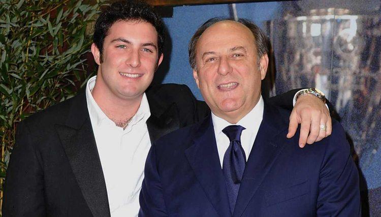 Edoardo e Gerry Scotti