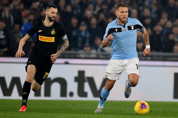 Lazio Inter Serie A formazioni
