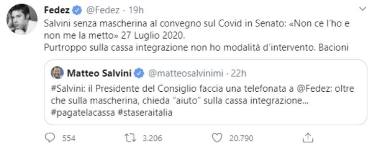 Salvini-Fedez