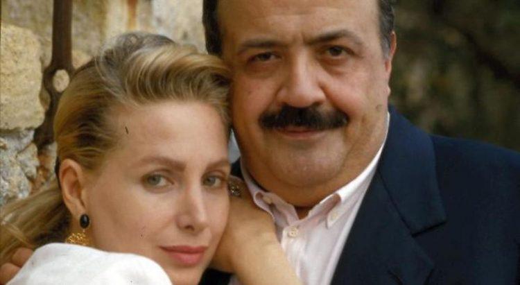 Marta Flavi e Maurizio Costanzo