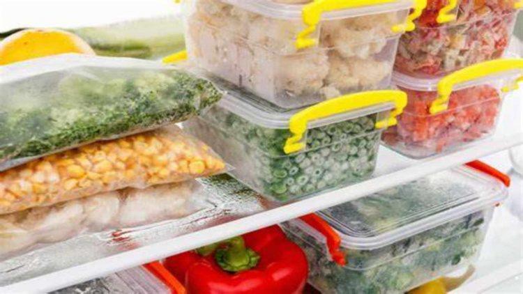 Alimenti da non congelare (foto dal web)
