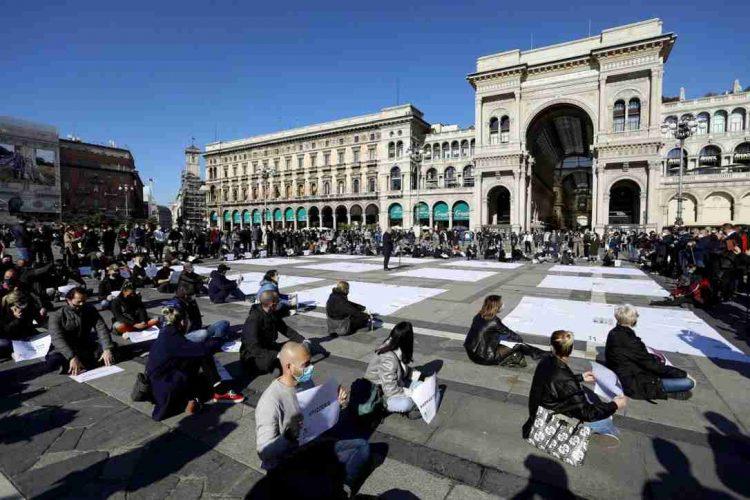 Protesta a Milano