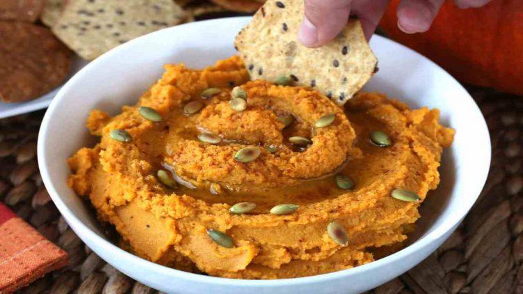Hummus di ceci e zucca (foto dal web)