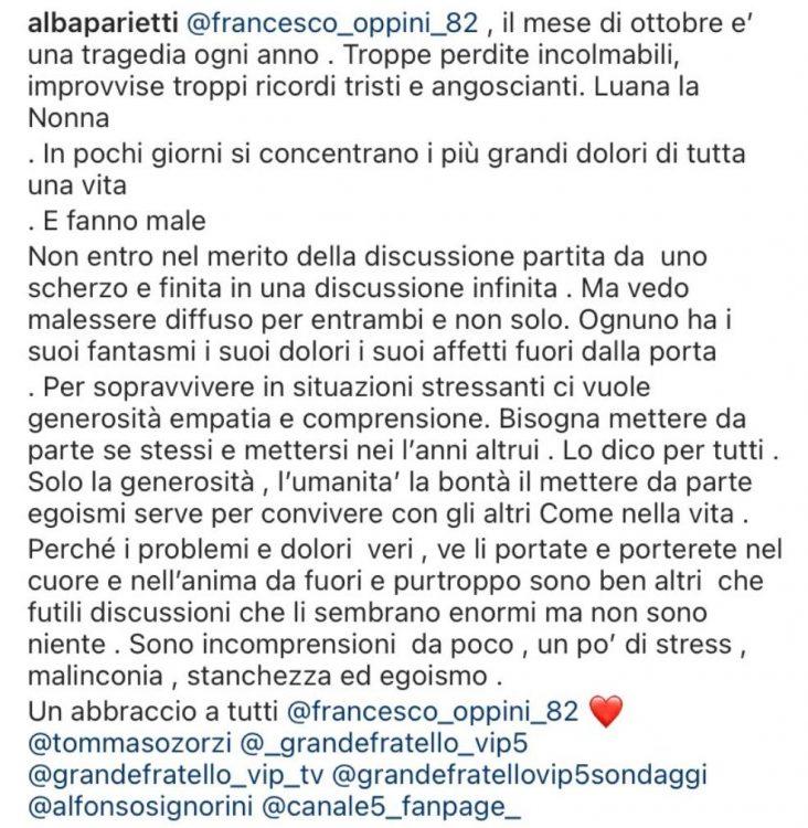 Il crollo di Francesco Oppini