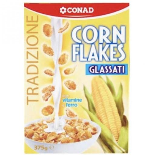 Conad Corn Flakes glassati 375g