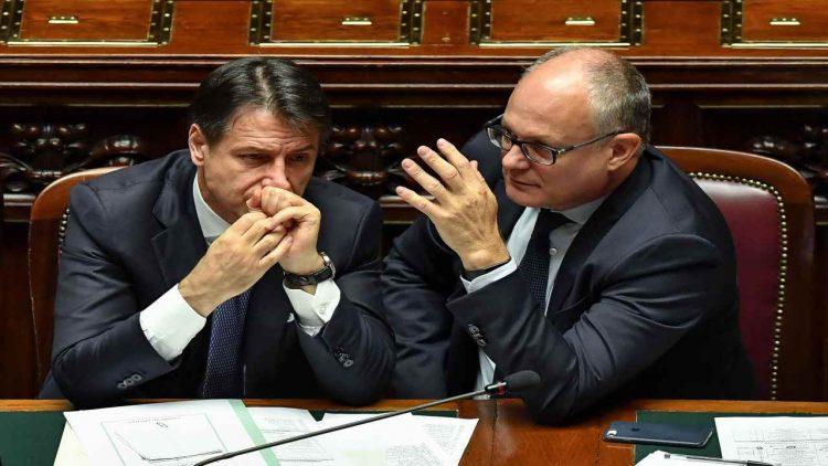 Gualtieri e Conte (foto dal web)