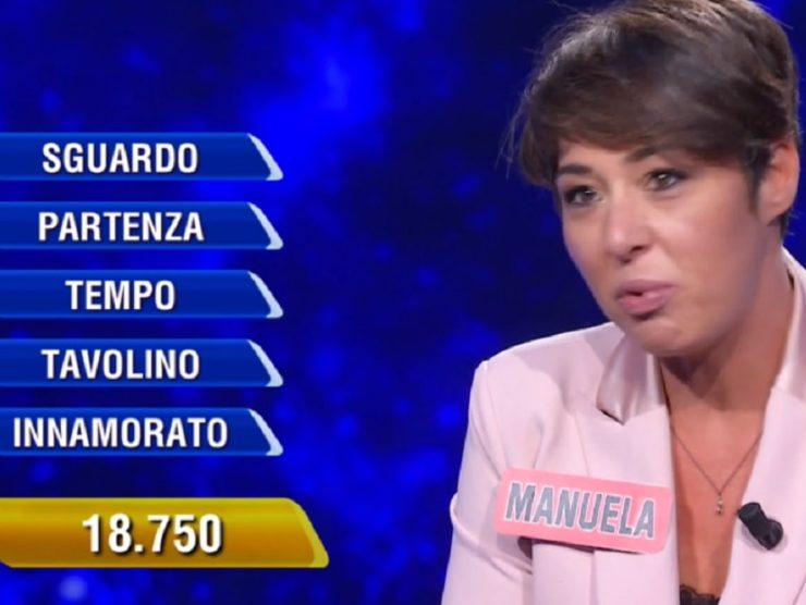 Campionessa Manuela a L'Eredità