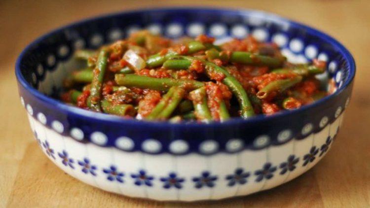 Fagiolini in cucina (foto dal web)
