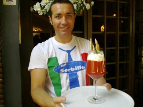 Gino Sorbillo pizza da bere (foto dal web)