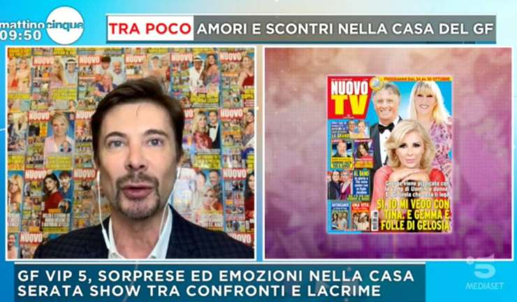 Riccardo Signoretti a Mattino 5