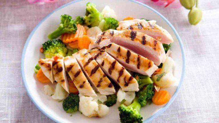 La dieta del pollo (foto dal web)