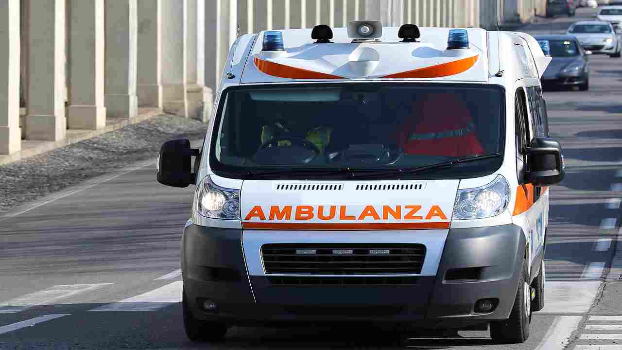 Incidente stradale Cassino padre
