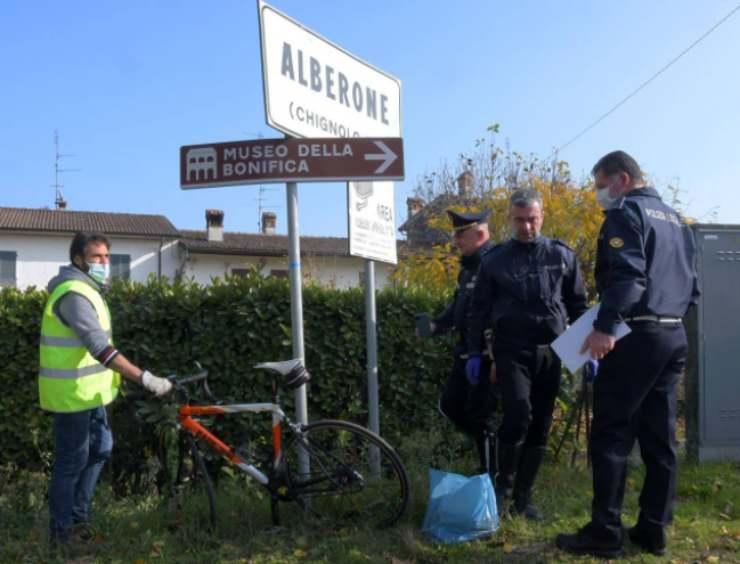 Incidente ad Alberone (foto laprovinciapavese.it)