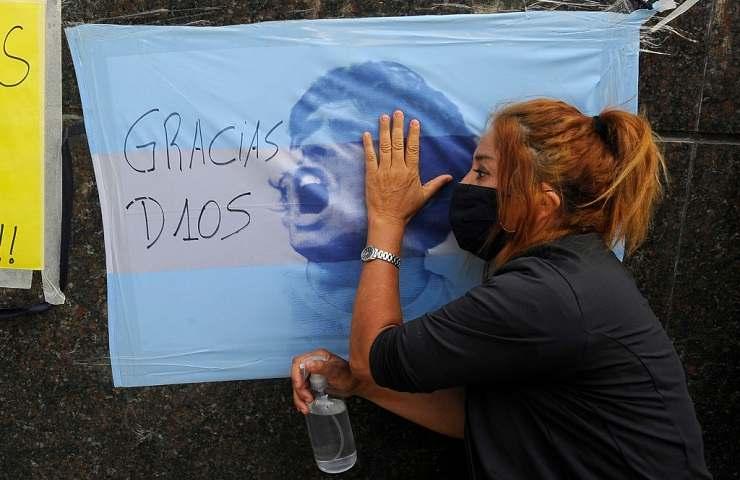 Diego Armando Maradona tifosa