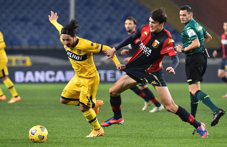 Genoa - Parma Serie A
