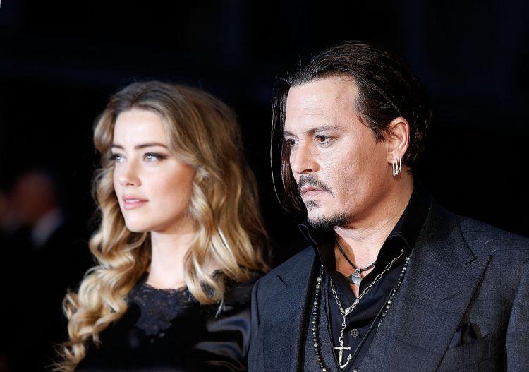 Johnny Depp e Amber Heard (getty images)