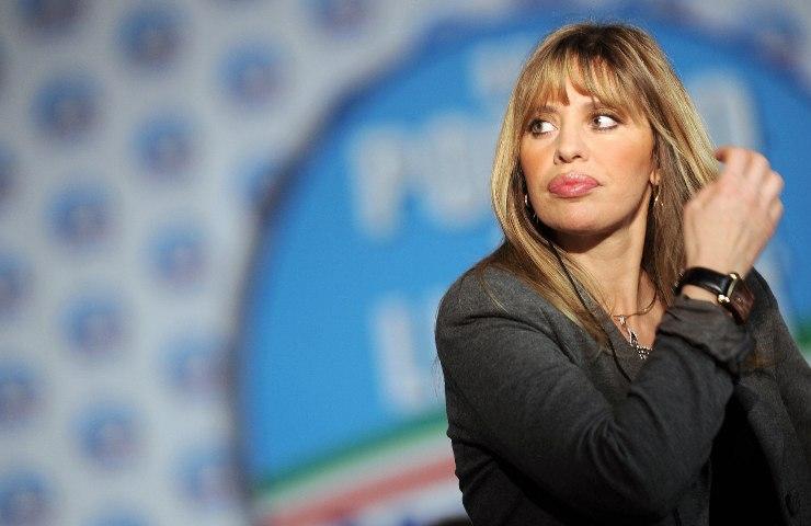 Alessandra Mussolini Mauro Floriani
