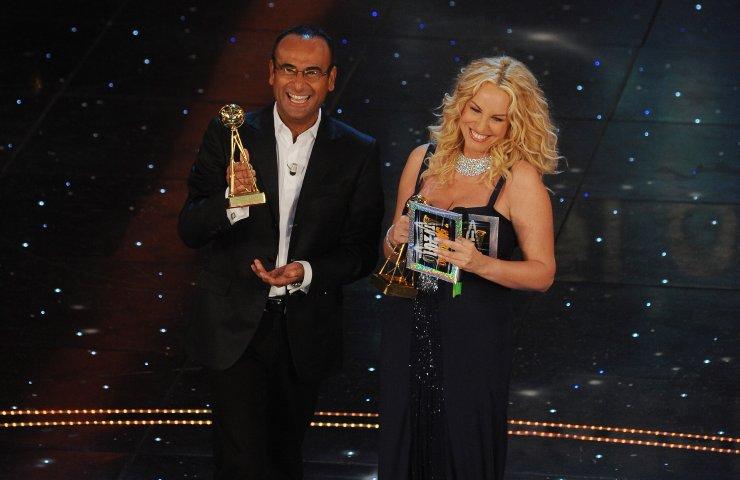 Carlo Conti e Antonella Clerici