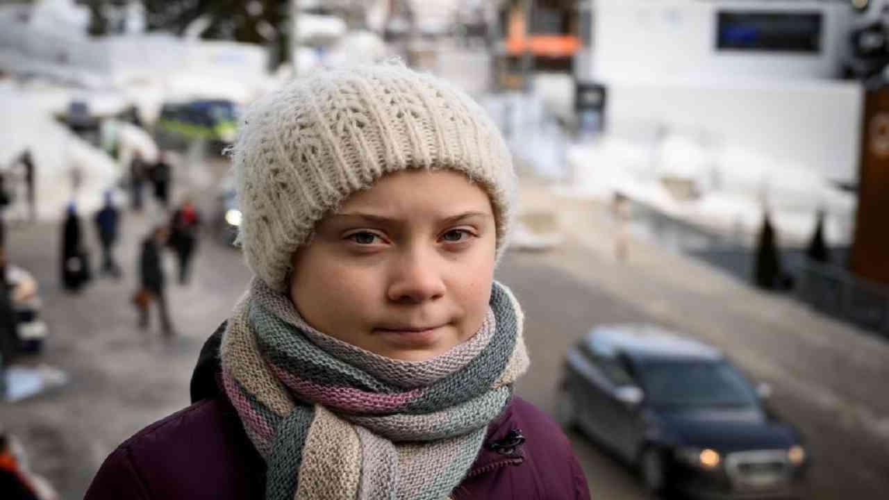 Greta Thunberg intervista crisi climatica