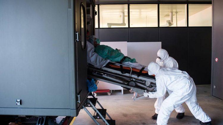 Pandemia, protesta Germania