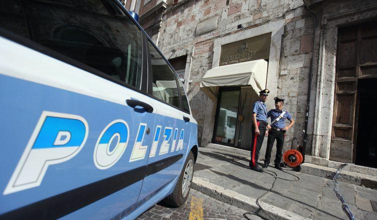 Polizia in servizio (Getty Images)